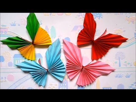 HOW TO MAKE PAPER BUTTERFLY | EASY ORIGAMI FOR KIDS | MAISON ZIZOU