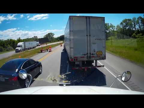 PALOS license plate Ohio aggressive reckless driving in construction zone
