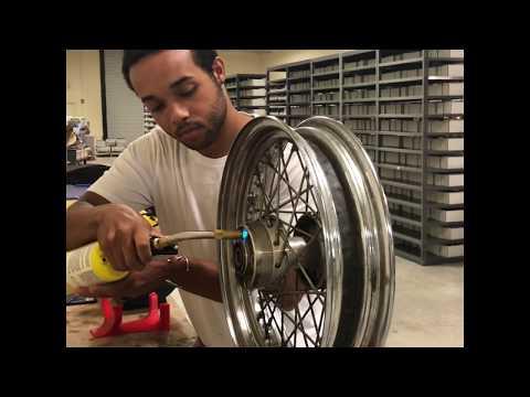 Motorcycle Wheel Hub Bearing Replacement