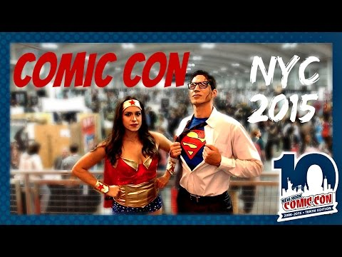 NYC COMIC CON // THINGS TO DO IN NYC