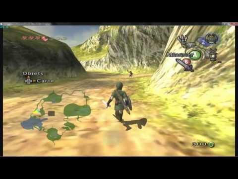 Zelda Twilight Princess run at full speed on dolphin