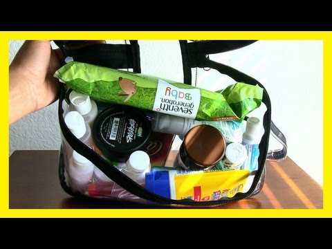 TRAVEL TIPS: How to Pack a TSA Approved Toiletries Carry On Bag