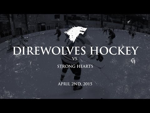 Direwolves Hockey vs. Strong Hearts - CAHL - The Chiller - North (Columbus, Ohio)