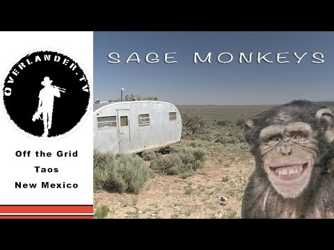 Living off Grid in the High Desert, Taos, New Mexico