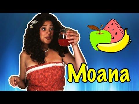 Disney Princess Moana Fruit Punch - Kids - Caroline Party
