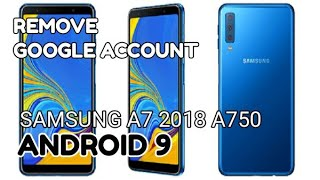 A6 Android 8) REMOVE GOOGLE ACCOUNT SAMSUNG A6 AND A6 PLUS