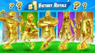 The *RANDOM* MYTHIC GOLD Boss Challenge in Fortnite!