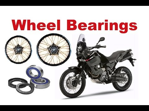 Motorcycle Wheel bearings change - How to do it?