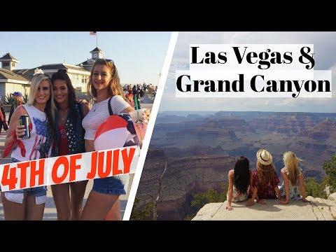 4th of JULY 🇺🇸 | LAS VEGAS 🎰 | GRAND CANYON 🏜