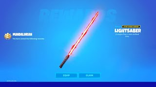 How to Get the MANDALORIAN PICKAXE in Fortnite!