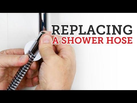 Shower Doctor TV: Replacing a shower hose.