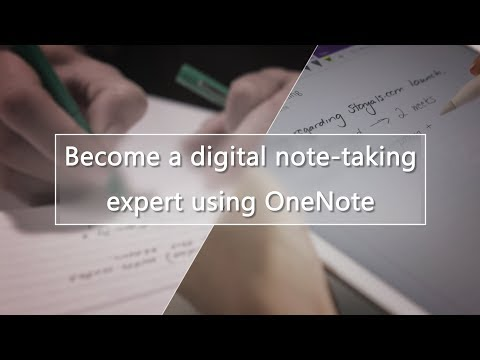 Become a digital note-taking expert using OneNote