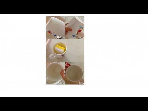 How to Clean Tea Coffee Stains From Mug Remove Tough Stains From Cups