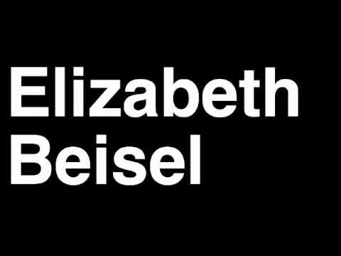 How to Pronounce Elizabeth Beisel USA Silver Medal 400m Medley Swim London 2012 Olympics Video