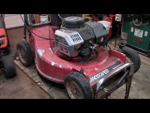 Build Quality? A Toro Commercial 2 Cycle Lawnmower
