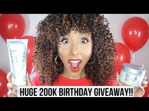 HUGE 200K BIRTHDAY GIVEAWAY!! | BiancaReneeToday
