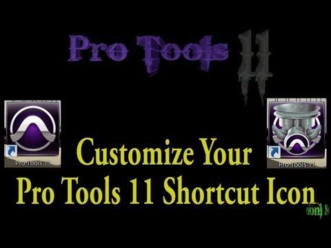 Pro Tools 11 - Customize Your Icon (Windows/Windows 8)