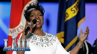Gladys Knight's Gorgeous Rendition of the National Anthem! | Super Bowl LIII NFL Pregame