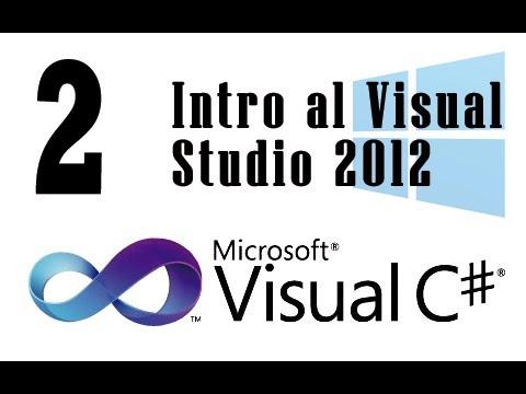 Tutorial C# - 2 - Intro al Visual Studio 2012