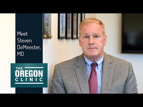 Meet Dr. Steven DeMeester, General & Thoracic Surgeon at The Oregon Clinic