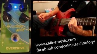 Caline Cp- 25 Highway Man Overdrive Pedal Review
