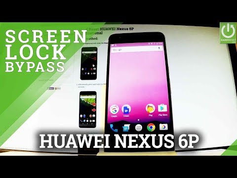 How to Hard Reset HUAWEI Nexus 6P - Bypass Screen Lock / Format