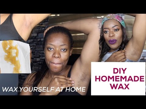 DIY NATURAL HAIR REMOVAL AT HOME : SUGAR WAX HAIR REMOVAL | NELO OKEKE