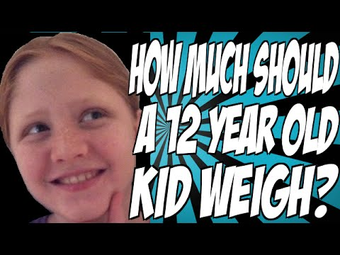 How Much Should a 12 Year Old Kid Weigh?