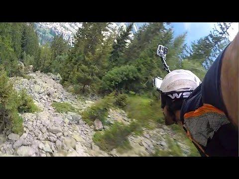 GoPro: Graham Dickinson's Insane Wingsuit Flight - Front Helmet Cam 2 of 3