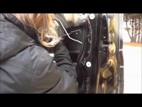 2007 Jeep Liberty - Replacing Electric Window Regulator / Motor