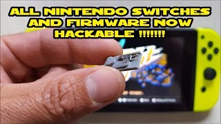 How to Hack a Nintendo Switch Joycon + Run Fusee Gelee
