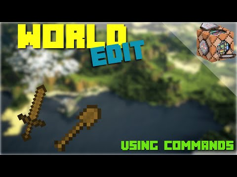 WORLD EDIT using COMMANDS- XBOX 1, WIN10, PE - TUTORIAL