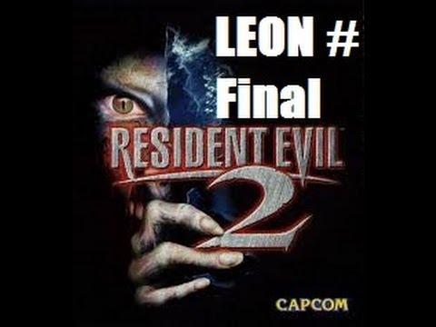 Resident Evil 2 LEON Part Final MO DISC