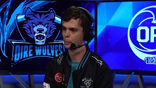LG Player Profile: Andy - Cupcake of the LG Dire Wolves
