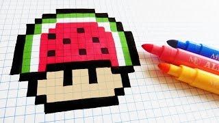 Handmade Pixel Art Adidas