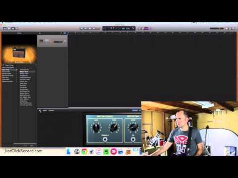 Recording Electric Guitar With GarageBand