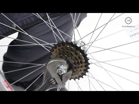 Replace A Bike Freewheel
