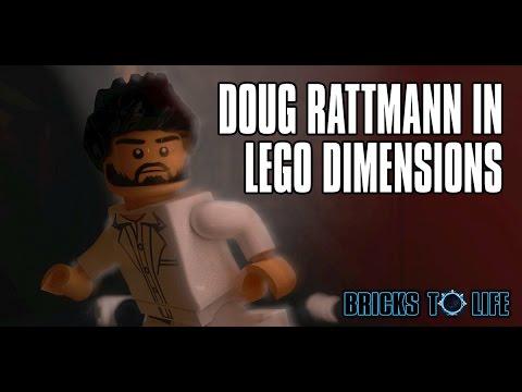 FOUND! Doug Rattmann In Lego Dimensions! Portal 2 Hidden Secret Character! Rattman Found!