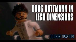 Found Doug Rattmann In Lego Dimensions Portal 2 Hidden Secret Character Rattman Found