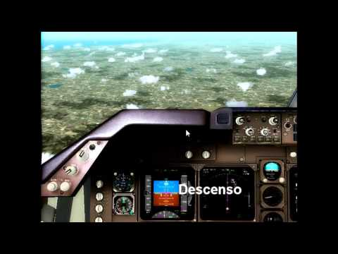 [FS2004] PMDG 747 Flight Timelapse [SAEZ-SAZM]