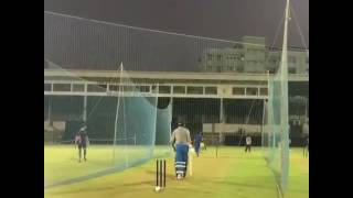 Yuvraj singh practice in nets,re-entry, mumbai,2017 tour of england.