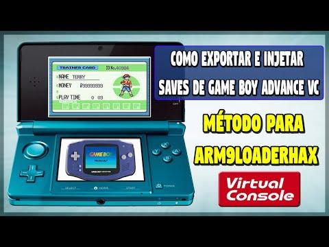 [3DS] Como exportar e injetar saves de Game Boy Advance VC (A9LH)