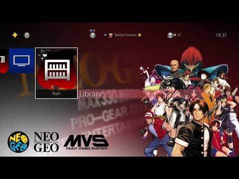 PS4 ACA NeoGeo 1st Anniversary Theme |Free On UK PSN Store|