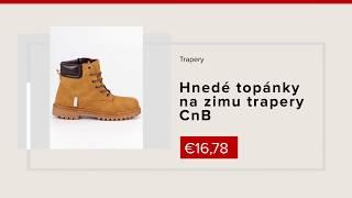 Hnedé topánky na zimu trapery CnB NAJ.SK 12ad48b7cea