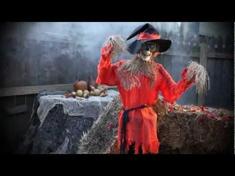 Scarecrow Animated Halloween Decoration