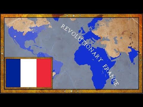 EU4 - VIVE LA REVOLUTION - Revolutionary France - Timelapse