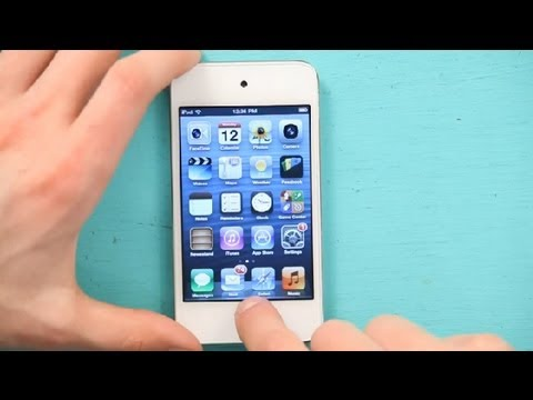 How to Reduce Lag on an iPod Touch : iPod & iPod Touch