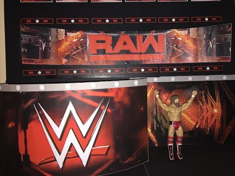 How To Make Custom WWE Raw Stage For Action Figures!