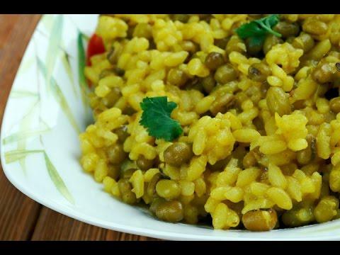 Spicy Moong Dal Khichadi