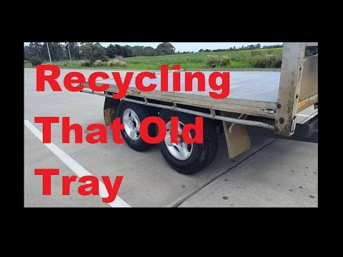 Flat Top Aluminium Trailer Build